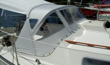 Viking 33 Dodger Bimini