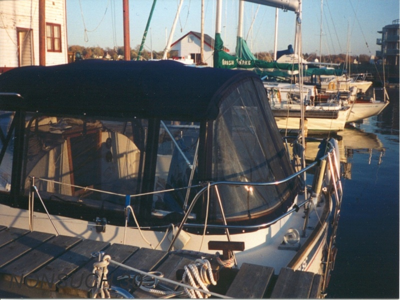 Nonsuch 30 Bimini Enclosure Gallery - Sportech Sails - Custom Sails, Boat Covers, and Biminis in ...